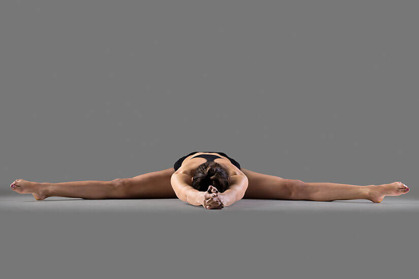 wide angle seated forward bend upavistha konasana